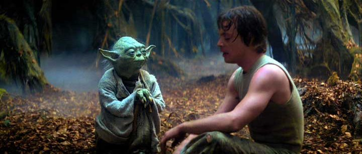 "Yoda and Luke ""You will be, you will be"""