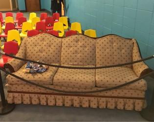 Cool Kidmin Idea: The VIP Couch