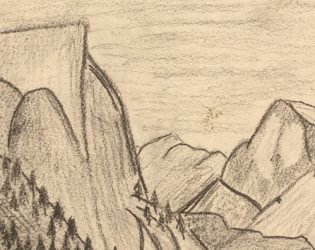Yosemite Drawings from 34 Years Ago Discovered!