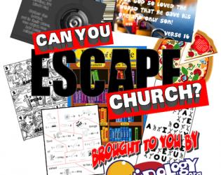 ESCAPE CHURCH Event Kit!