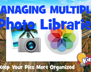 iPhoto HACK – How to Use Mulitple Libraries
